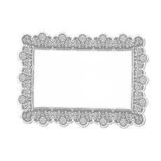 Prelude 14X19 Placemat, White