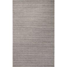Flatweave Tribal Pattern Blue/Taupe Wool And Art Silk Area Rug (9X12)