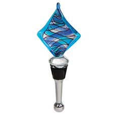 Blue Blue Diamond Bottle Stopper
