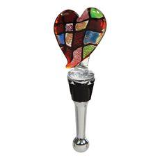 Heart Heart Shape Bottle Stopper