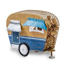 Camper Cork Caddy Camping Trailer