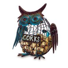 Owl Wine Cork Caddy