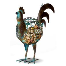 Rooster Wine Cork Caddy
