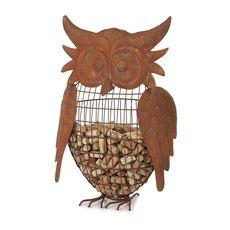 Owl Large Owl Cork Caddy