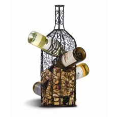 Bouchon Wine Rack & Cork Caddy