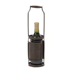 Black Singola Wine Bottle Holder