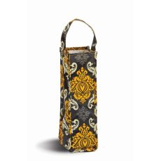 Coated Canvas Moxie Wine Tote, Provence Flair