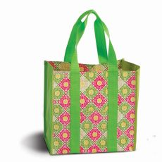 Coated Canvas Moxie Town Tote, Green Gazebo