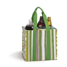 Coated Canvas Moxie Town Tote, Lime Rickey