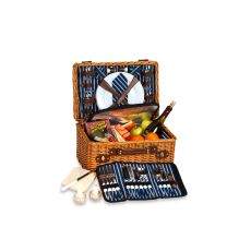 Wicker Wynberrie Four Person Picnic Basket, Willow