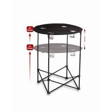 Scrimmage Tailgate Table, Black