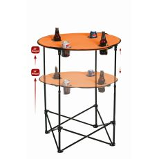 Scrimmage Tailgate Table, Orange