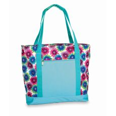 LIDO Two in One Cooler Bag, Blue Blossom