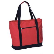 LIDO Two in One Cooler Bag, Red/Black