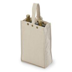 Natural Silverado II Insulated Double Bottle Bag