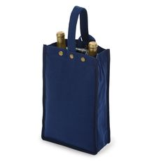 Navy Silverado II Insulated Double Bottle Bag