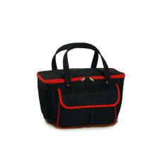 Avanti Cooler Tote, Black/Red