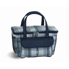Avanti Cooler Tote, Varsity Plaid