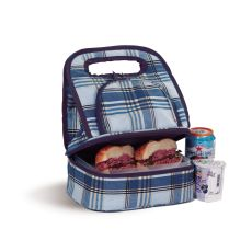 Savoy Lunch Bag, Varsity Plaid