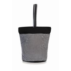 Razz Lunch Tote, Houndstooth