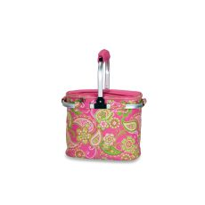 Shelby Collapsible Market Tote, Pink Desire