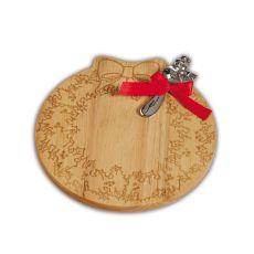 Wreath Cheese Board