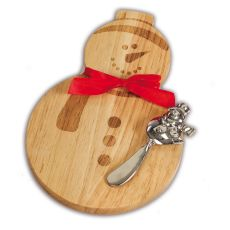 Snowman Cheese/Cutting Board