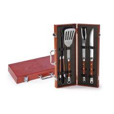 4 PC Chairman BBQ Tool Set