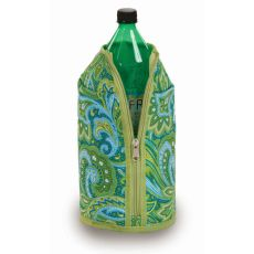 Two Liter Jacket, Green Paisley