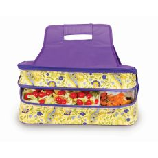 Entertainer Hot and Cold Food Carrier, Buttercup