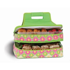 Entertainer Hot and Cold Food Carrier, Green Gazebo