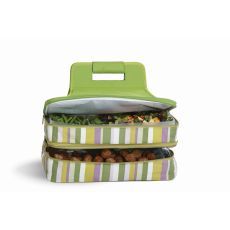 Entertainer Hot and Cold Food Carrier, Lime Rickey