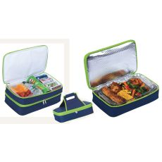 Entertainer Hot and Cold Food Carrier, Navy