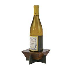 Walnut Village Bottle Stand