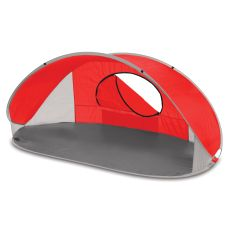 Manta Sun Shelter-Red With Grey Accents