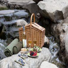Somerset-English Style Willow Dlx Basket