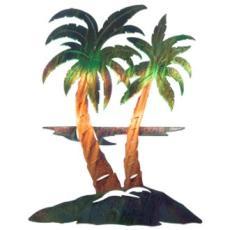 Palm Trees Metal Wall Art