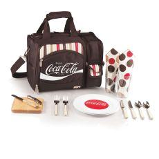 Coca-Cola - Malibu Picnic Tote By Picnic Time (Moka)