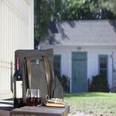 Sonoma-Wine Tote- Grey