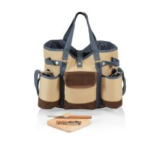 Wine Country Tote- Tan
