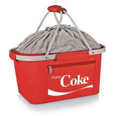 Coca-Cola - Metro Basket Collapsible Tote By Picnic Time (Red)