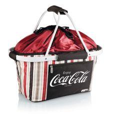 Coca-Cola - Metro Basket Collapsible Tote By Picnic Time (Moka)
