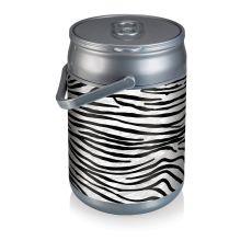 Can Cooler- Zebra Print