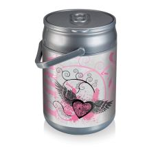 Can Cooler- Pink Powe 12 Can Capacity