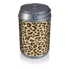 Mini Can Cooler- Cheetah Print