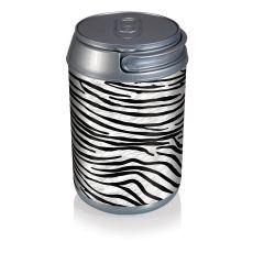 Mini Can Cooler- Zebra Print