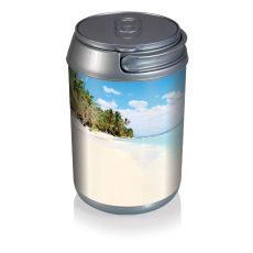Mini Can Cooler- Beach Scene