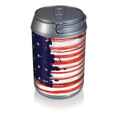 Mini Can Cooler- Stars And Stripes