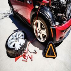 Roadside Emergency Kit-Black