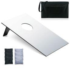 Bean Bag Throw-Plain White